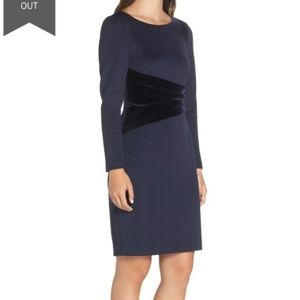 NWT Vince Camuto Contrast Panel Dress Sz 18